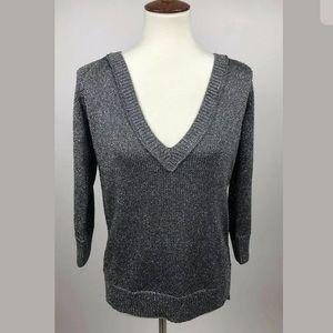 Club Monaco Metallic Knit Sarah Sweater Chandails